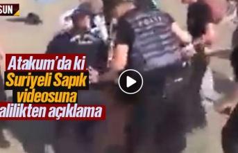 Samsun Atakum'da Suriyeli Sapık Videosuna Valilikten...