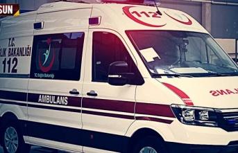 Samsun'da feci trafik kazası, 11 yaralı