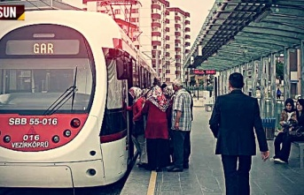 Samsun'da Otobüs ve Tramvay Ücretsiz