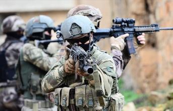 Şırnak Cehennem Deresi'nde 8 terörist öldürüldü