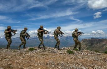1'i 'Turuncu', 3'ü 'Gri' kategoriden 4 PKK'lı terörist öldürüldü
