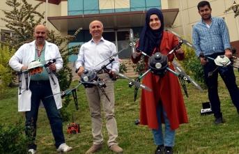 Tokat'ta üretilen İHA'lar güvenlik güçlerinin...
