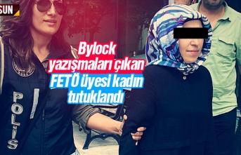 Bylock yazışmaları çıkan FETÖ'cü kadın Samsun'da tutklandı
