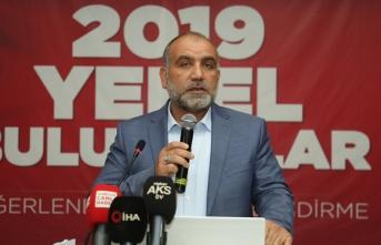Canik Belediye Başkanı İbrahim Sandıkçı 100...