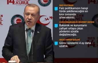 Cumhurbaşkanı Erdoğan'dan Merkez Bankası açıklaması