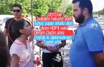 Erbil'de ki diplomatımızı şehit eden, PKK'lı terörist Mazlum Dağ, HDP Diyarbakır Milletvekili Dersim Dağ'ın ağabeyi çıktı