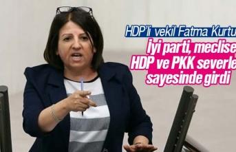 'İyi Parti meclise, HDP ve PKK severlerin sayesinde...