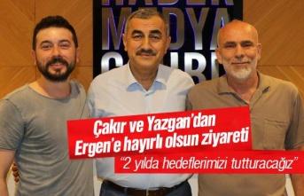 Okan Çakır ve Recep Yazgan'dan Ali Yılmaz Ergen'e...