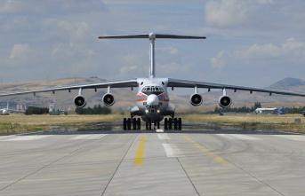 S-400 sevkiyatı kapsamında 5. uçak Mürted'e...