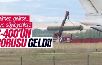 S-400lerin füze rampası Türkiye'ye geldi
