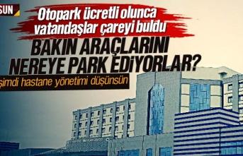 Samsun Eğitim Araştırma Hastanesi otoparkı ücretli...