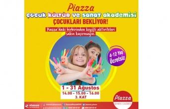 Samsun Piazza'da çocuklar için ücretsiz etkinlikler