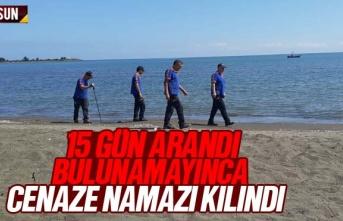 15 Gündür aranan Ali Korkmaz bulunamayınca cenaze...