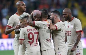 5 kırmızı kartın çıktığı maçın galibi Galatasaray