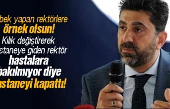 Adnan Menderes Üniversitesi Rektörü Osman Selçuk...