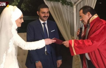 Adnan Öz'ün oğlu Metin Öz evlendi