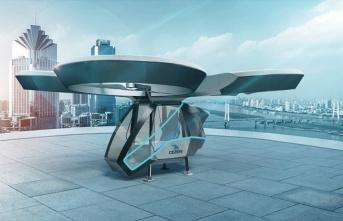 Yerli ve Milli uçan araba projesi 'CEZERİ'