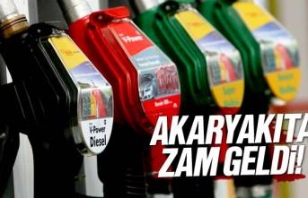Benzin ve Mazota Zam Geldi
