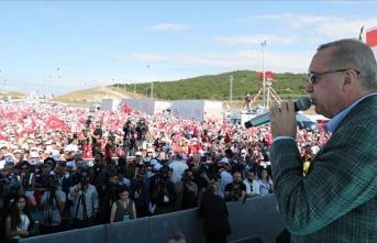 Cumhurbaşkanı Erdoğan: Şimdi de Fırat'ın doğusuna...