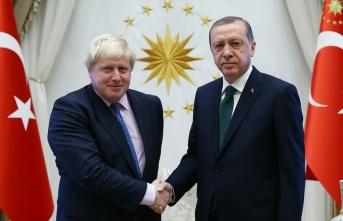 Cumhurbaşkanı Erdoğan'dan Boris Johnson'a tebrik...