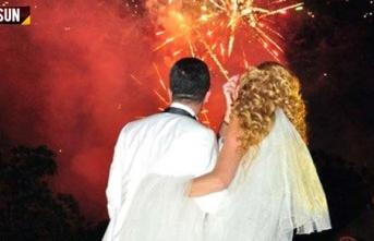 Düğünlerde izinsiz havai fişek atılmasına para...