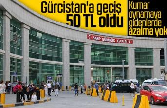 Gürcistan'a giriş ücreti 50 lira oldu