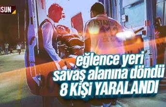 Kına gecesinde çıkan kavgada 8 kişi yaralandı