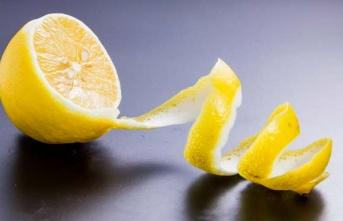 Limon kabuklarını atmayın! Limon kabuğu faydaları...
