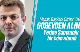 Masak Başkanı Osman Dereli görevden alındı. Yerine Samsunlu Hayrettin Kurt atandı. Kimdir?