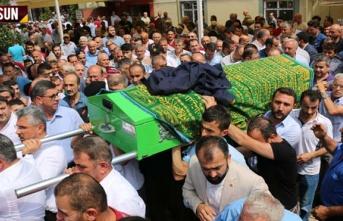 Salıpazarı'nda selde hayatını kaybeden 2 kişi defnedildi