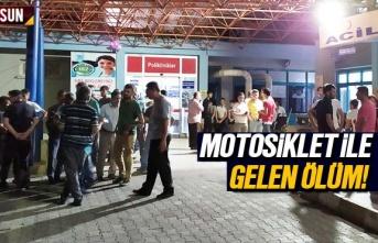 Samsun Haber: Motosiklet 59 yaşındaki kişinin canını...