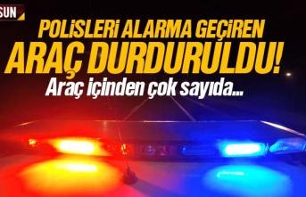 Samsun Haber: Polisleri alarma geçiren araç duruldu