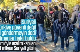 Suriyeli mülteci, Türkiye güvenli değil beni göndermeyin dedi