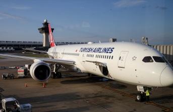 THY'nin 'rüya uçağı' ABD'de