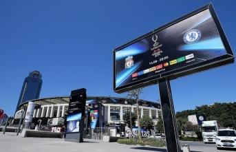 Liverpool ile  Chelsea, UEFA Süper Kupası final maçı İstanbul'da