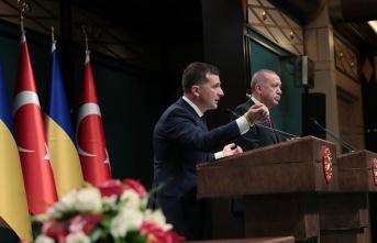 Ukrayna Devlet Başkanı Zelenskiy: Türk iş dünyasını...