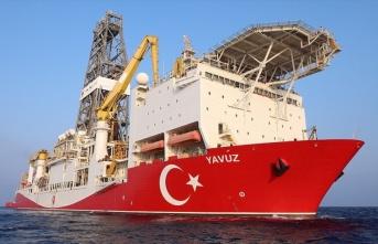 Yavuz sondaj gemisi, Doğu Akdeniz'de sondaja başladı