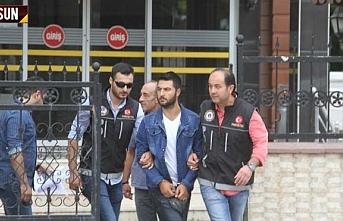 Bafra'da uyuşturucu satıcısı tutuklandı
