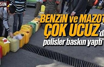 Benzin ve Mazot çok ucuzdu, polisler baskın yaptı