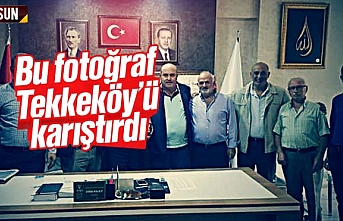 Bu fotoğraf Tekkeköy'ü karıştırdı