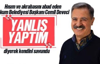 CHP'li Başkan Cemil Deveci'nin yeğeni...