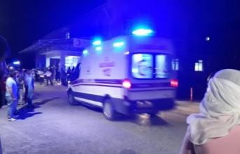 Diyarbakır'da sivil aracın geçişi sırasında...