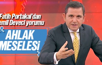 Fatih Portakal'dan Cemil Deveci çıkışı, 'Ahlak...