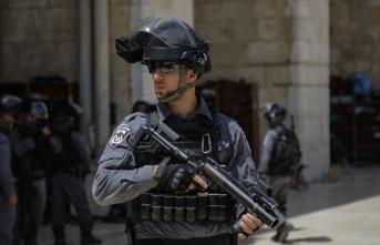 İsrail güçlerinden Filistinli partinin ofisine...