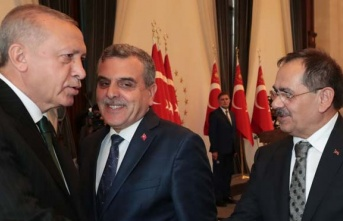 Mustafa Demir, külliyede Cumhurbaşkanı Erdoğan...