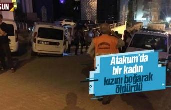 Samsun Atakum'da Fatma Berlik, kızını öldürdükten sonra intihar etti