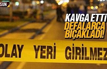 Samsun Tekkeköy'de bıçaklı kavga, ağır yaralı