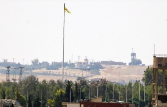 Terör örgütü YPG/PKK sınır hattında varlık...