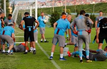 Trabzonspor: Ekuban'ın tarak kemiğinde kırık tespit...