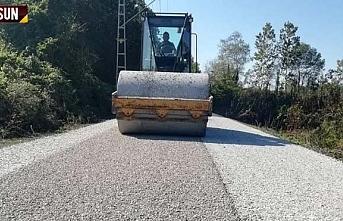 Çarşamba Belediyesi 7 ayda 230 km yol çalışması...